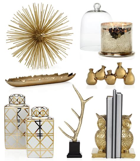 Golden Home Decor Birdie To Be Golden Accessories
