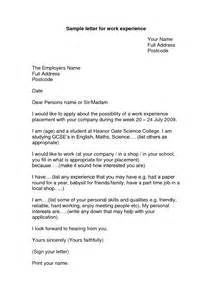 Application Letter For Job Experience How To Write An Application Letter Without Experience