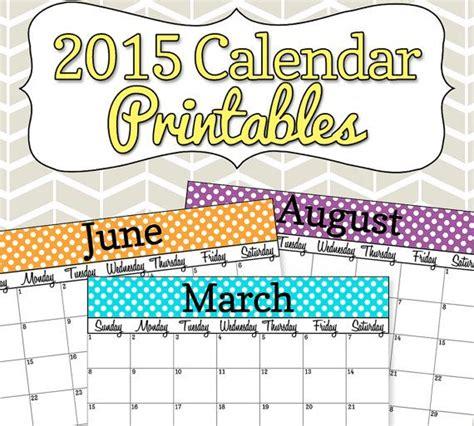 printable calendar 2015 for teachers 7 best images of 2015 calendar printable editable for