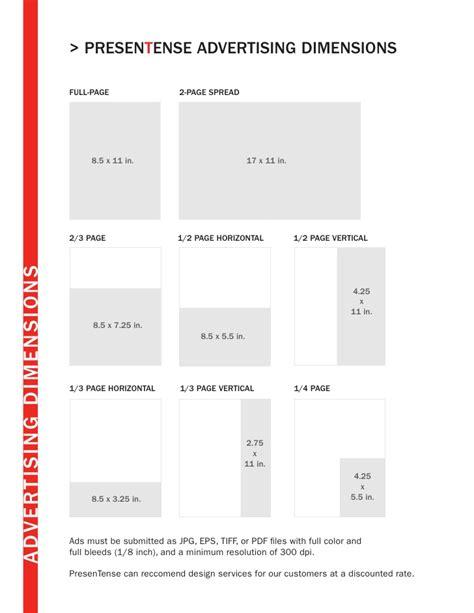 magazine layout size magazine ad specs