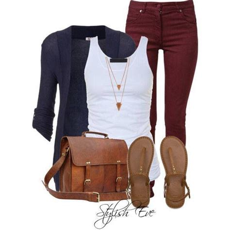 Nir Blus Casual Maroon blue cardigan white top gold and brown accessories with maroon maroon