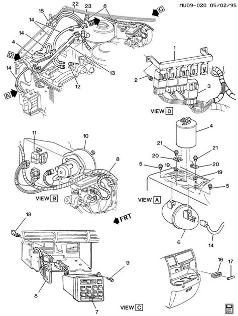 chevy truck parts diagram 1962 chevy cer special html autos post