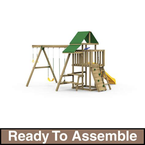 Ready To Assemble by Playstar Varsity Starter Ready To Assemble Playset At Menards 174