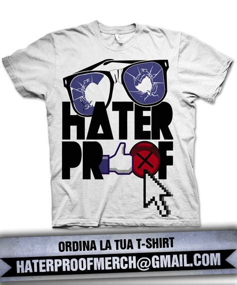 testo haterproof haterproof t shirt hip hop rec