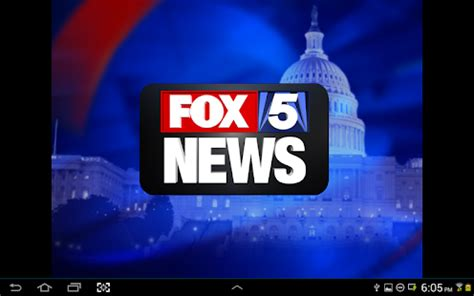 fox 5 news washington dc weather fox 5 dc android apps on google play