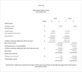 Balance Sheet Template Uk by 301 Moved Permanently