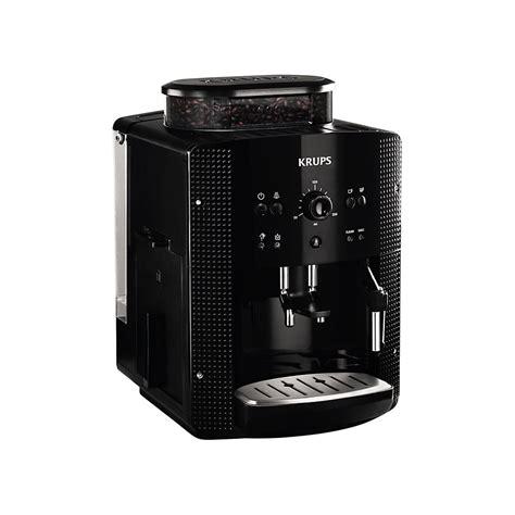 Krups Coffee Machine krups ea8108 bean to cup coffee machine black krups