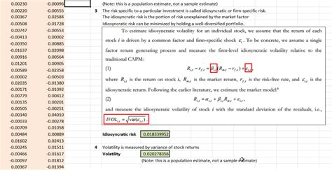 what is behavior analysis exles how to calculate volatility in excel