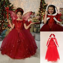 Anna party dress kids children halloween cospaly costume christmas