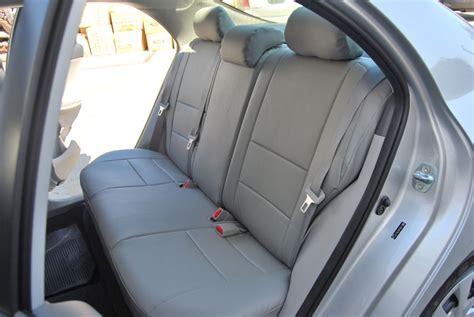 Seat Covers For Toyota Corolla Toyota Corolla 2003 2008 Leather Like Custom Seat Cover Ebay