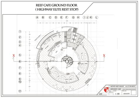 rest floor plan proposed design highway ellite rest stop restaurant