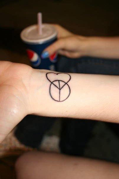 tattoo love peace harmony peace love harmony and balance wrist tattoo tattoo