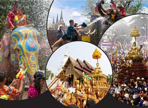 how is new year celebrated in thailand thai new year at the royal budha