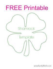 shamrock template 695 x
