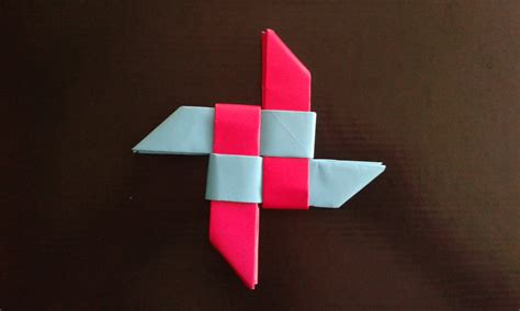 How To Make A Origami Shuriken - origami