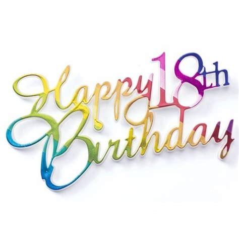Happy 18th Birthday Wishes Happy Eighteenth Birthday Page 11