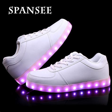 light up shoes size 6 מוצר size 31 46 big kids light up shoes for children usb