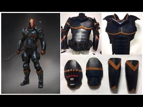 Deathstroke Armor Template how to make deathstroke armour