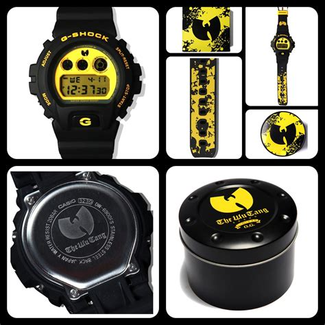 G Shock Wu Tang Limited Edition G Shock X Wu Tang Clan 20th Anniversary