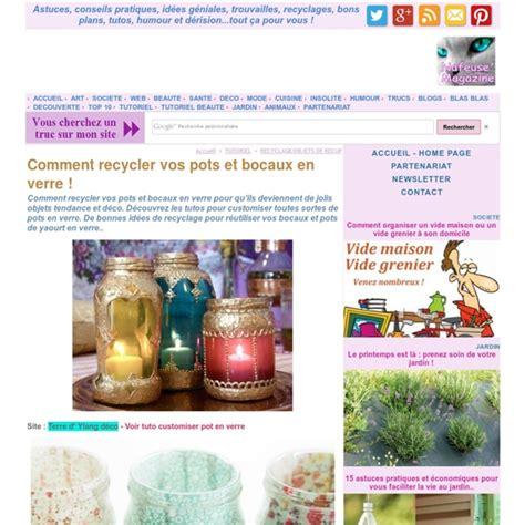 Recycler Bocaux En Verre by Comment Recycler Vos Pots Et Bocaux En Verre Pearltrees