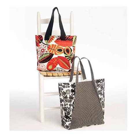 sewing pattern tote bag lined butterick 5978 easy see sew pattern to make lined fabric