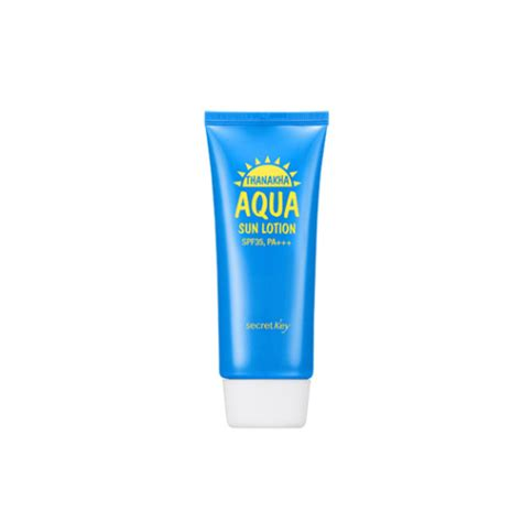 secret key thanakha aqua sun lotion spf35 pa secret