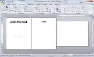 buat nomor halaman di word 2010 ujian praktek tik smpn 15 bandung