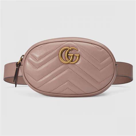 Tas Wanita Gxcci Marmont Matelasse sacs ceinture femme gucci sac ceinture gg marmont en