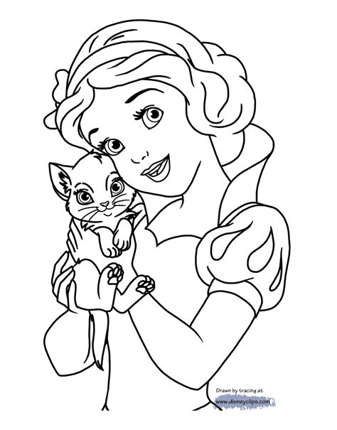 snow white coloring pages disney coloring book
