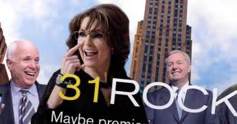 sarah palin turns  tables  tina fey impression