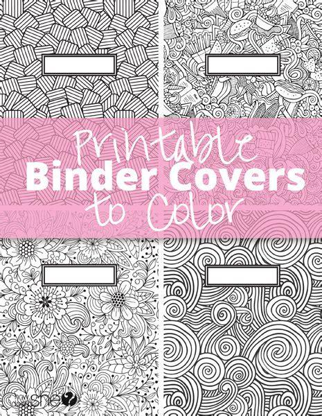 free printable binder covers no download printable binder covers to color free download for back