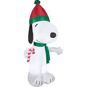 airblown inflatable 5 snoopy christmas inflatable