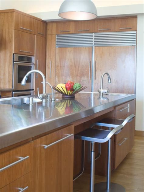 gorgeous kitchen center island cabinets of stainless steel 10 beautiful stainless steel kitchen island designs