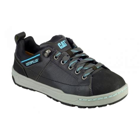 Kickers Boots Safety Grey Licin brode steel s1 p src safety trainers grey