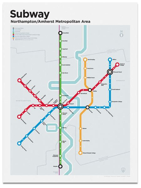 northampton subway map transit authority figures