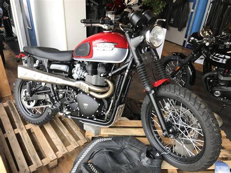 Motorrad Hintermeyer by Umgebautes Motorrad Triumph Scrambler Motorrad