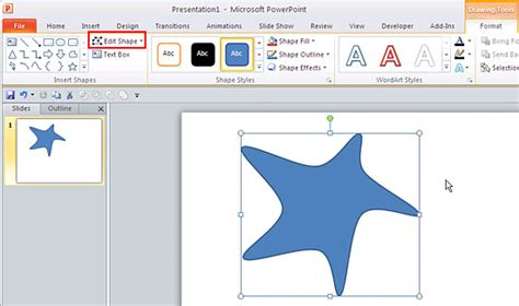 how to doodle in powerpoint edit points for shapes in powerpoint 2010 for windows
