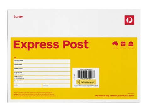 Express Post Racking express post large b4 envelope 10 pack australia