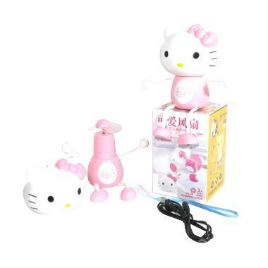 Mini Fan Kipas Angin Portable Karakter Hello Helo Kity Ac jual oltinstore hello usb mini fan kipas angin mini
