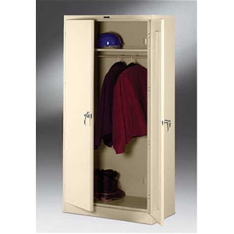 Metal Wardrobe Closets by All Metal Closet Wardrobe Deluxe Metal Wardrobe Cabinet 187 Tofs165 Elitedecore