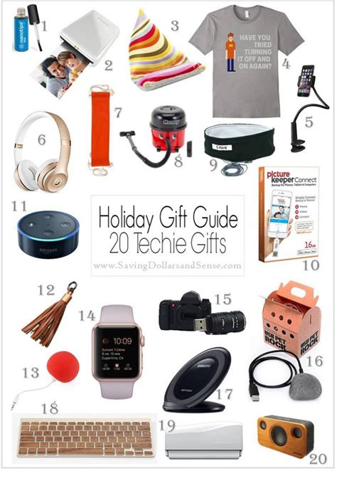 the best gift ideas for techies saving dollars sense