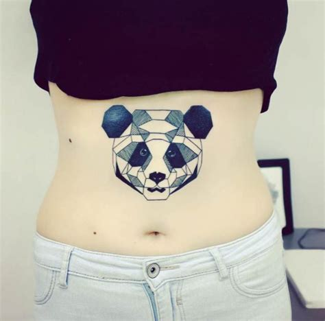 tattoo panda geometric 363 best images about panda tattoos on pinterest