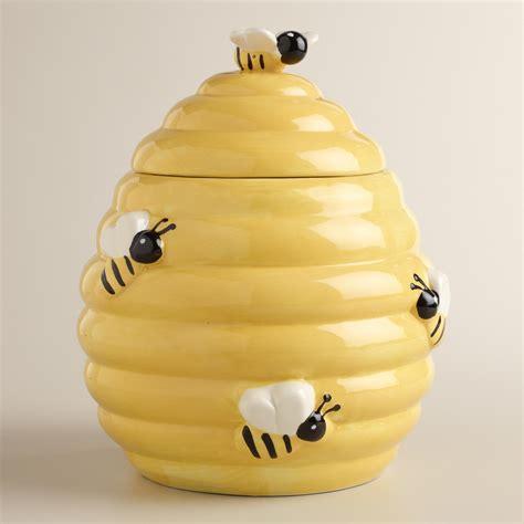 cookie jar beehive cookie jar world market