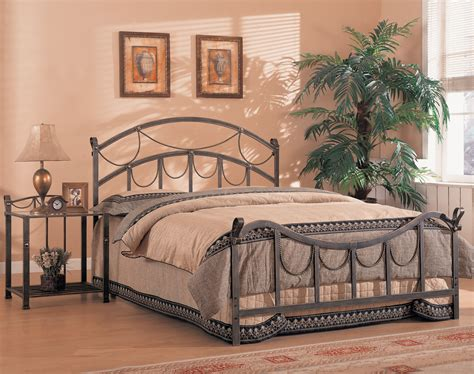 iron bed queen whittier queen iron bed with rope detail from coaster 300021q coleman furniture