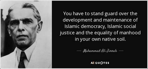 Islamic Cloth Fight For Freedom muhammad ali jinnah quote you to stand guard