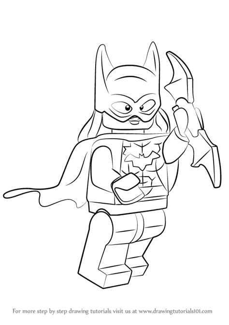 printable coloring pages lego batgirl learn how to draw lego batgirl lego step by step
