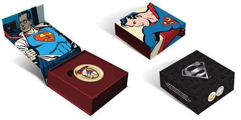 Koin Coin Set Canada Superman Anniversary new release superman 75th anniversary coins up up away agaunews