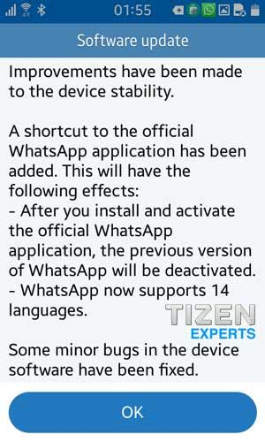 Smart Shortcut To Grammar Soft Cover tizen z1 update for india brings new whatsapp shortcut language support sammobile sammobile