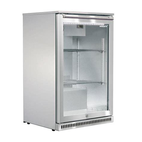 Single Door Glass Fridge Husky Refrigeration 118 Litre Single Glass Door Alfresco Bar Fridge