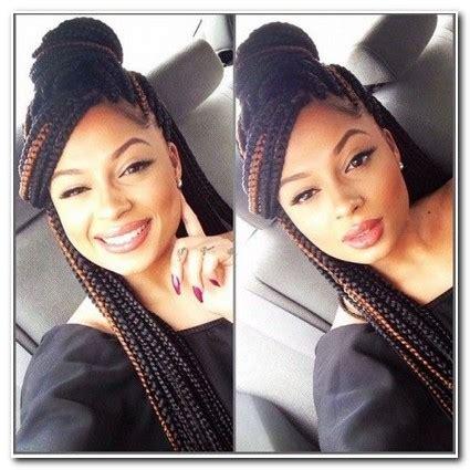 Hairstyles To Do With Box Braids by Hairstyles To Do With Box Braids New Hairstyle Designs